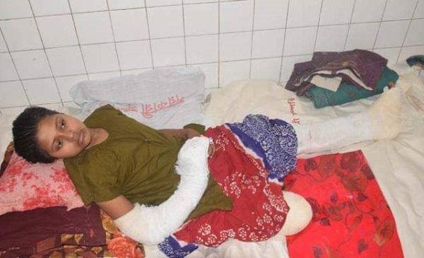 শার্শার স্কুলছাত্রী নিপা কৃত্রিম পা লাগাতে বিদেশ নেয়া হবে