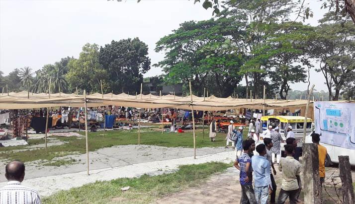 শরীয়তপুর বুড়িরহাট শুরু হয়েছে ৩ দিনব্যাপী জেলা ইজতেমা