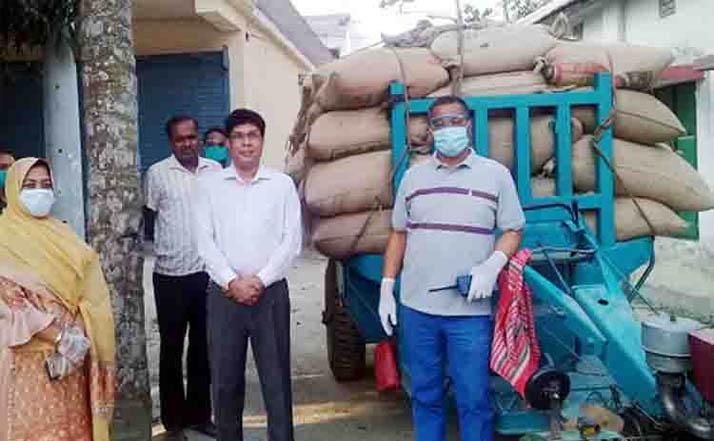 জামালপুরে আ'লীগ নেতার গুদাম থেকে সরকারি চাল উদ্ধার
