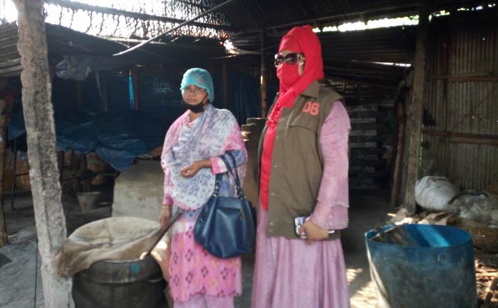 রংপুরে অস্বাস্থ্যকর পরিবেশে সেমাই উৎপাদনেজরিমানা