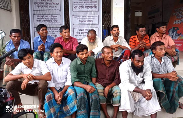 আটোয়ারীতে ভ্রাম্যমান আদালতের রায়ে ১৩ জুয়াড়ির জেল