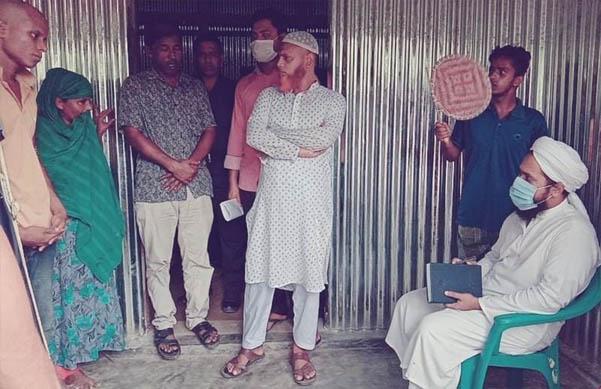 কটিয়াদীকে মাকে অত্যাচার করায় যুবকের কারাদন্ড