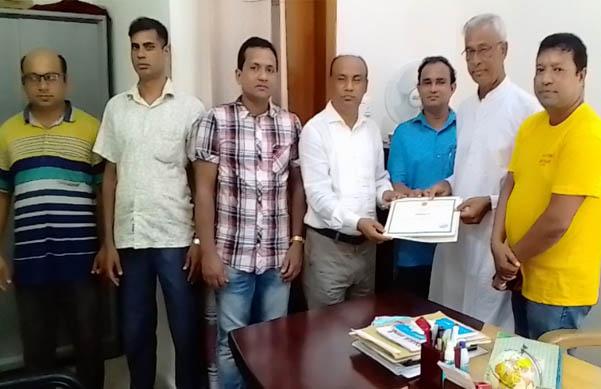 সরকারি নিবন্ধন পেলো গৌরীপুর গণপাঠাগার