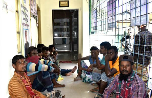 ঈশ্বরগঞ্জে অবৈধ বালু উত্তোলনে ৯জনের কারাদন্ড