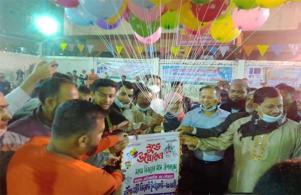 লক্ষ্মীপুরে শর্টপিচ নাইট ক্রিকেট টুর্নামেন্ট উদ্বোধন