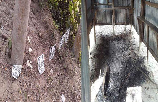 শরীয়তপুর পৌরসভা কাউন্সিলর প্রার্থী রশিদের বাড়িতে হামলা নৌকার পোষ্টার তছনছ
