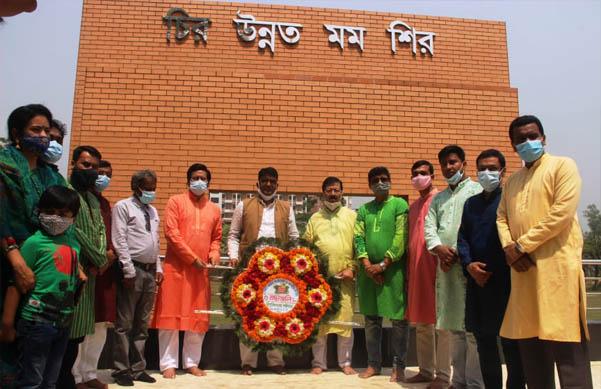 কবি নজরুল বিশ্ববিদ্যালয়ে মহান স্বাধীনতা ও জাতীয় দিবস পালিত