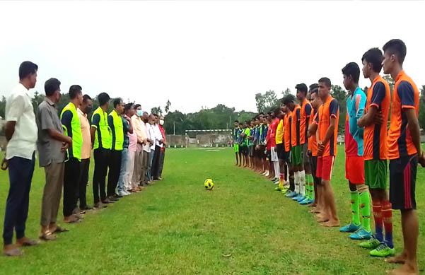 গৌরীপুরে বঙ্গবন্ধু জাতীয় গোল্ডকাপ ফুটবল টুর্নামেন্টের উদ্বোধন