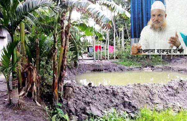 নান্দাইলে জমি সংক্রান্ত বিরোধে এক মাওলানাকে হয়রানির অভিযোগ